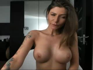 sweetndcrazy cam girl is helplessly bound and face fucked