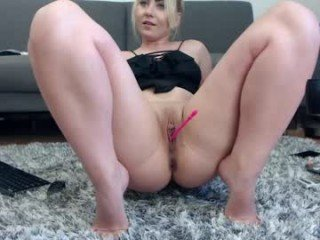 emmanuelle_jacques live cum show with ohmibod in the pink pussy