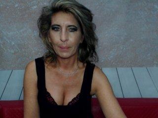 maturemerryxx german brunette cam girl gets her bald pussy filled with a huge boner