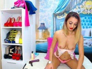 starletjones cam girl loves poking sex toy between her legs on camera