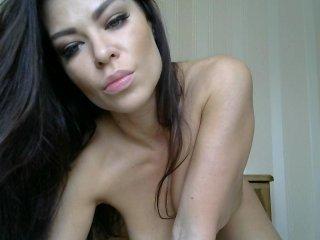 milaniia beautiful cam girl gets hot cum over her face