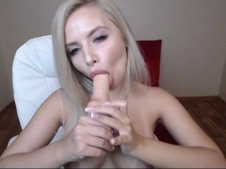 hustlerstar blonde cam girl with big boobs teaching how to have sex